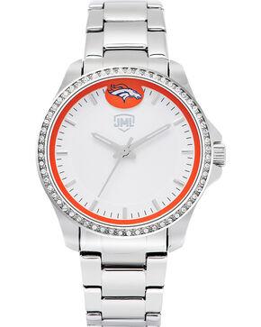 Jack Mason Women's Denver Glitz Sport Watch , Silver, hi-res