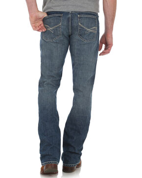 Wrangler 20X Men's No. 42 Vintage Boot Cut Jeans - Long, Blue, hi-res