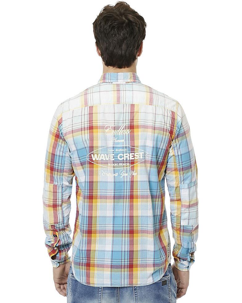 Buffalo Men's Sijax Plaid Long Sleeve Western Shirt , , hi-res