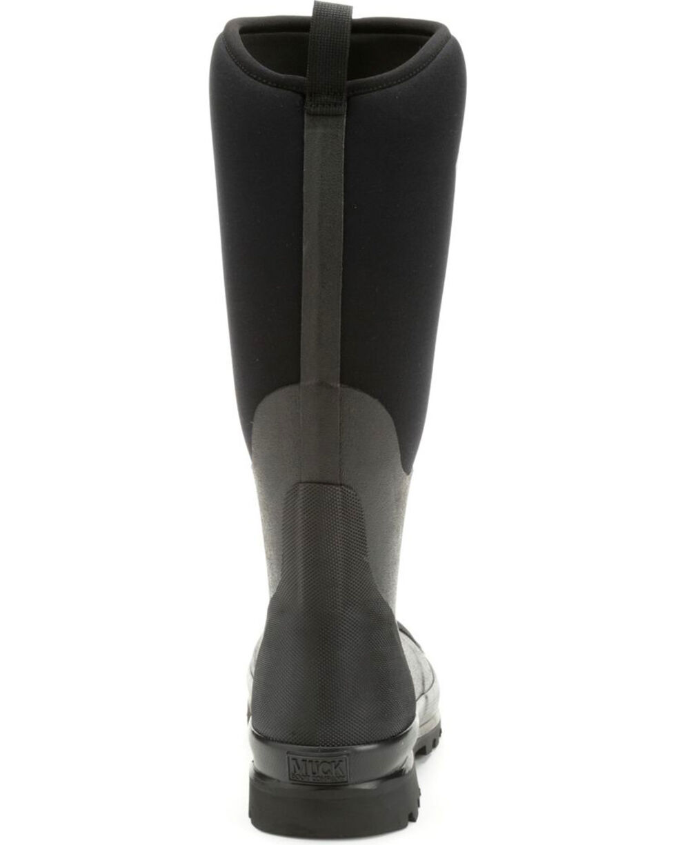 Muck Boots Women's Black Waterproof Chore Tall Boots - Round Toe , Black, hi-res
