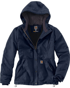 Carhartt Women's Full Swing Cryder Jacket, Navy, hi-res