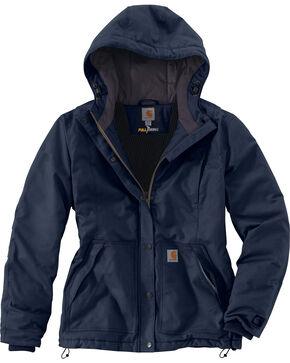 Carhartt Women's Full Swing Cryder Jacket, Navy, hi-res