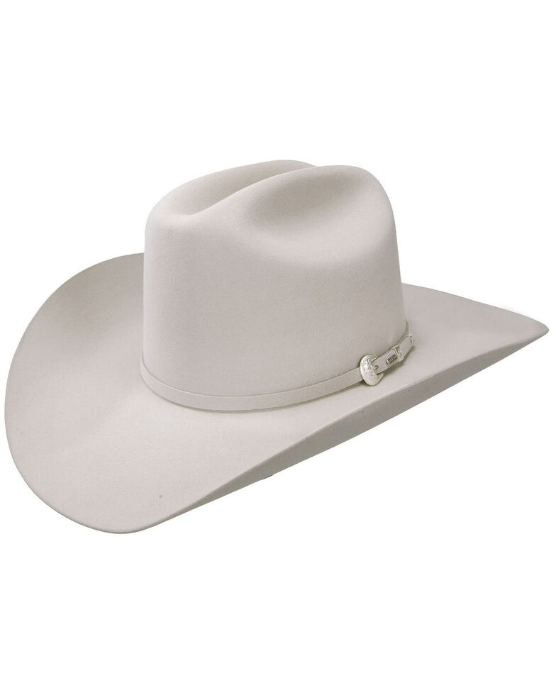 Resistol 6X Midnight Fur Felt Cowboy Hat, Silverbelly, hi-res