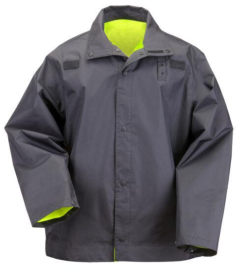 5.11 Tactical Reversible High-Visibility Rain Coat, Black, hi-res