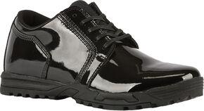 5.11 Tactical Men's Pursuit Oxford Shoes, Black, hi-res