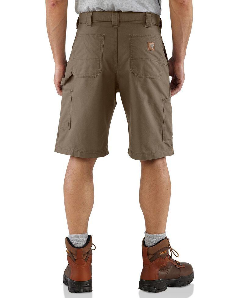 Carhartt Canvas Work Shorts, Brown, hi-res