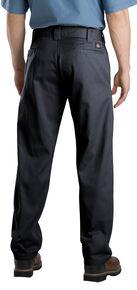 Dickies Slim Fit Straight Leg Work Pants, Black, hi-res