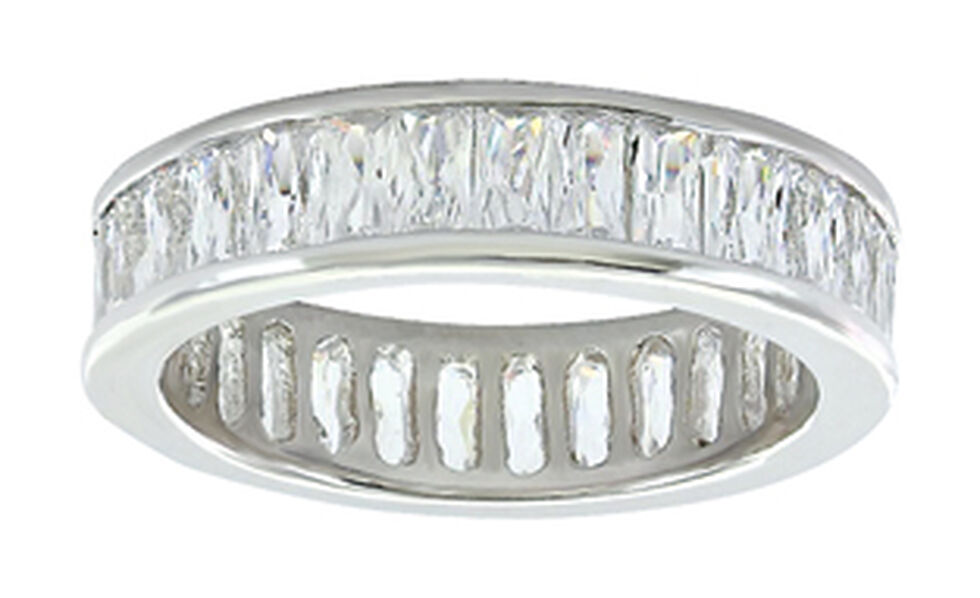 Montana Silversmiths Women's Rippling Stream of Light Ring  , Silver, hi-res