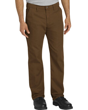 Dickies Men's Brown Tough Max Carpenter Pants - Straight Leg , Brown, hi-res