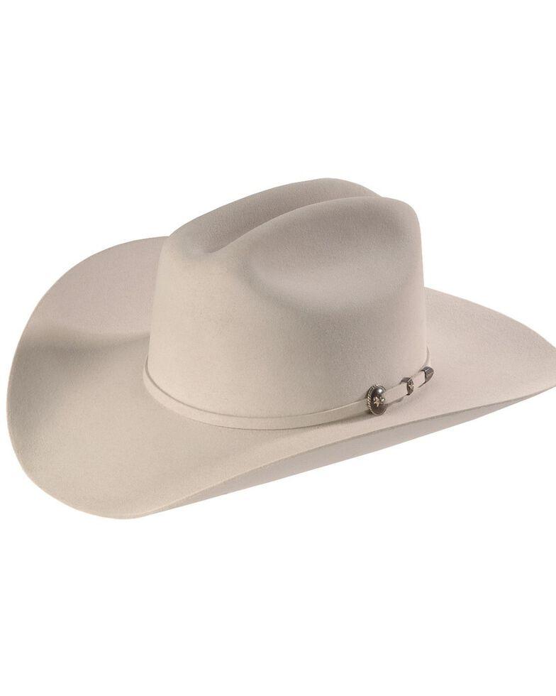 Resistol George Strait 6X Remuda Fur Felt Western Hat, Silver Grey, hi-res