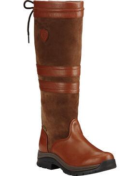 Ariat Women's Chestnut Braemar GTX English Boots, Brown, hi-res