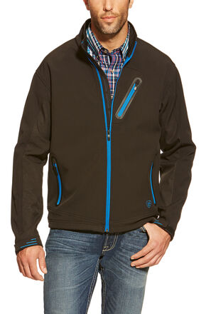 Ariat Men's Forge Softshell Jacket, Black, hi-res