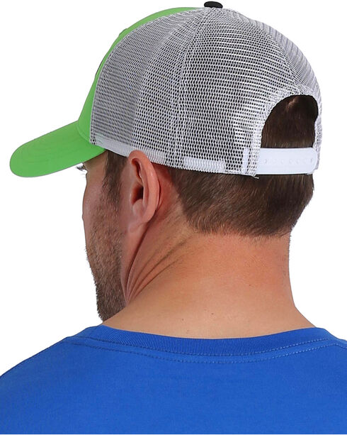 Cinch Men's Green Trucker Mesh Back Cap , Green, hi-res