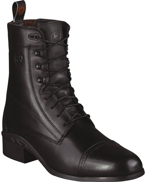 Ariat Men's Heritage 3 Paddock Lace-Up Riding Boots - Round Toe, , hi-res