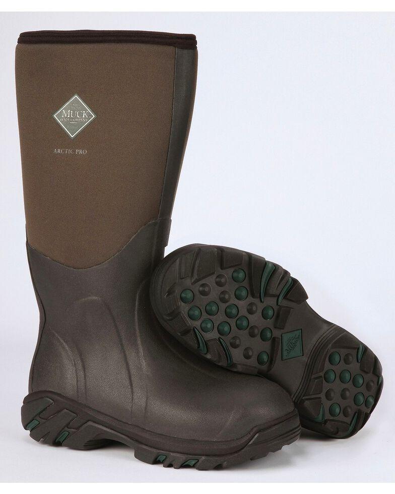 Muck Men's Bark Brown Arctic Pro Boots , Bark, hi-res