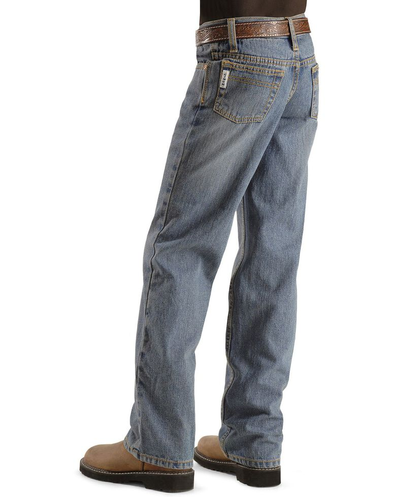 Cinch Boys' White Label Jeans - 8-18 Slim, Denim, hi-res