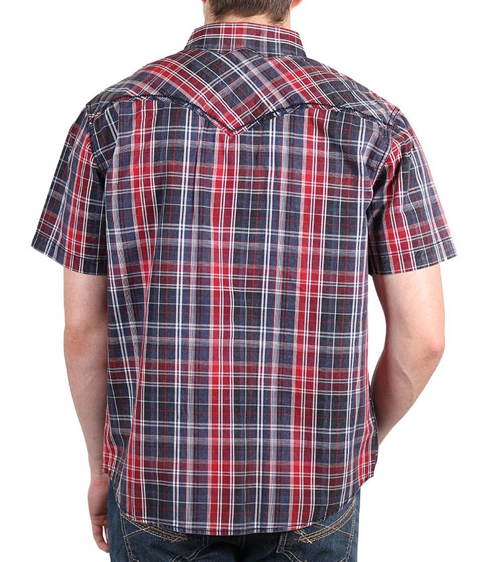 Moonshine Spirit Men's Late Night Short Sleeve Shirt, Navy, hi-res
