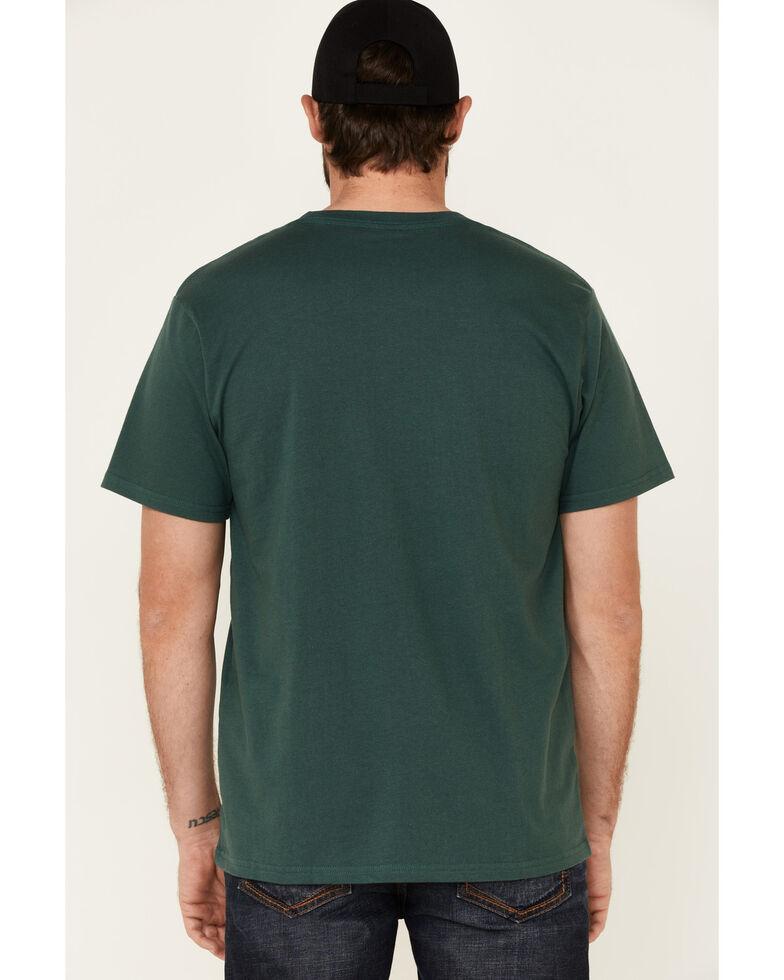 Moonshine Spirit Men's Mountain Man Graphic Short Sleeve T-Shirt , Green, hi-res