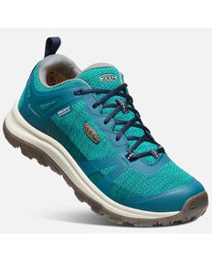 Keen Women's Terradora II Waterproof Hiking Shoes - Soft Toe, Blue, hi-res