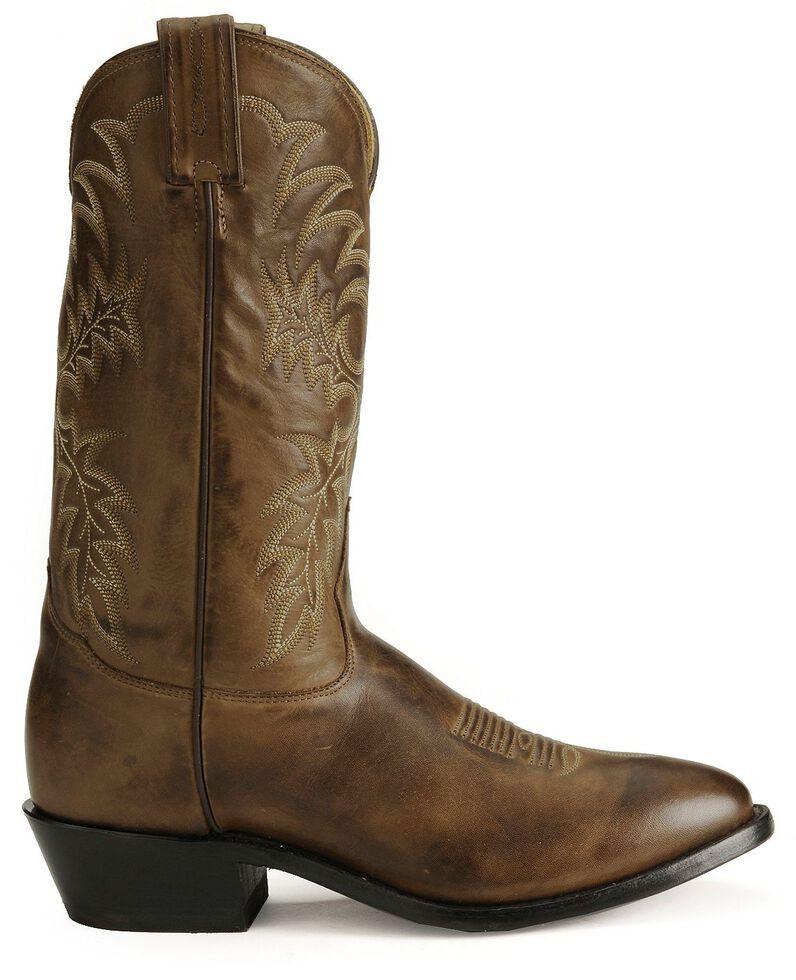 Tony Lama Stallion Leather Americana Cowboy Boots - Medium Toe, Kango, hi-res