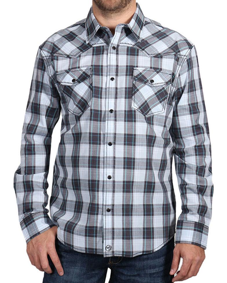 Moonshine Spirit Men's Plaid Long Sleeve Shirt, Multi, hi-res