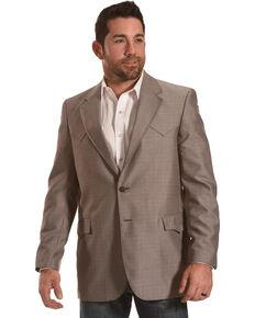 Circle S Men's Plano Nutmeg Sport Coat - Reg & Long, Tan, hi-res