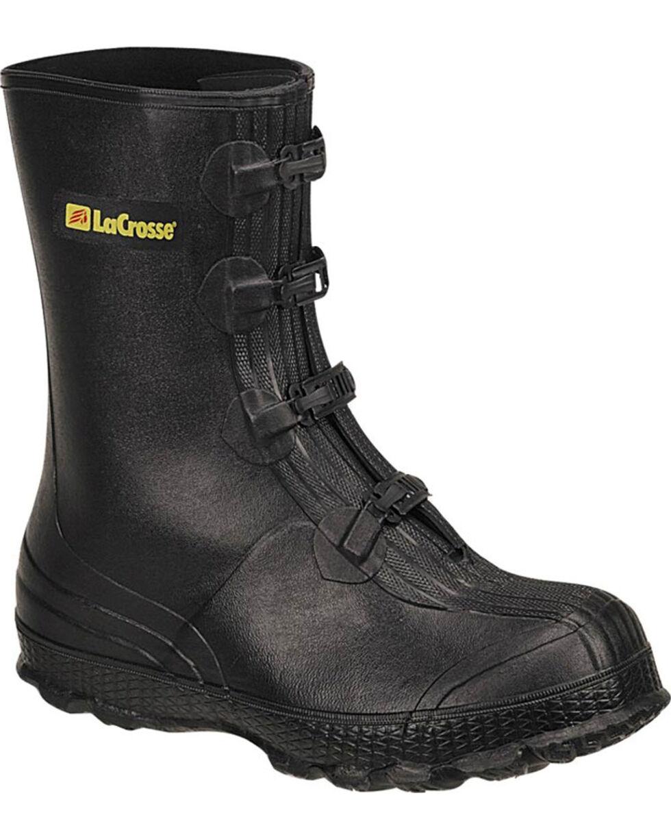 LaCrosse Men's Z-Series Overshoes Rubber Boots - Round Toe, Black, hi-res