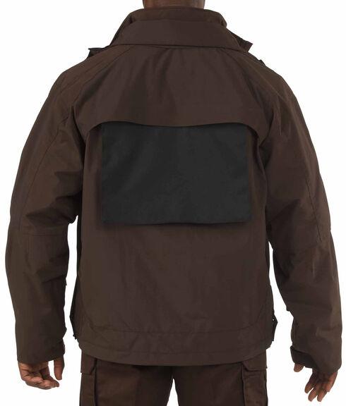 5.11 Tactical Valiant Duty Jacket - 3XL and 4XL, Brown, hi-res