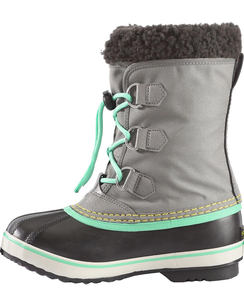 Sorel Boys' Grey Yoot Pac Nylon Boots - Round Toe , Grey, hi-res