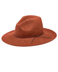 Peter Grimm Zima Flat Brim Hat, Orange, hi-res