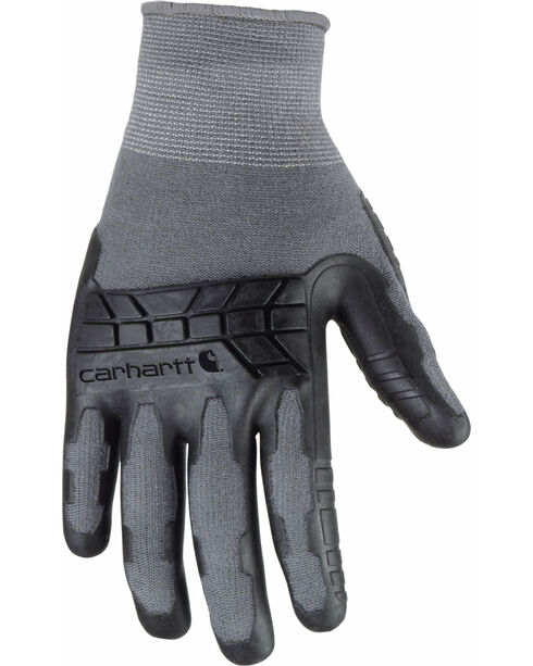 Carhartt Men's Grey C-Grip Knuckler Glove , Grey, hi-res