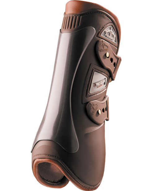 Veredus Baloubet Pro Classic Open Front Brown Boots, Brown, hi-res