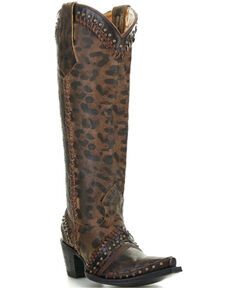 Old Gringo Women's Margery Western Boots - Snip Toe, Brown, hi-res