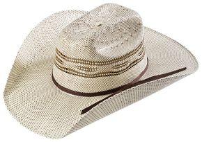 Twister Kids' Two-tone Bangora Cowboy Hat, Natural, hi-res