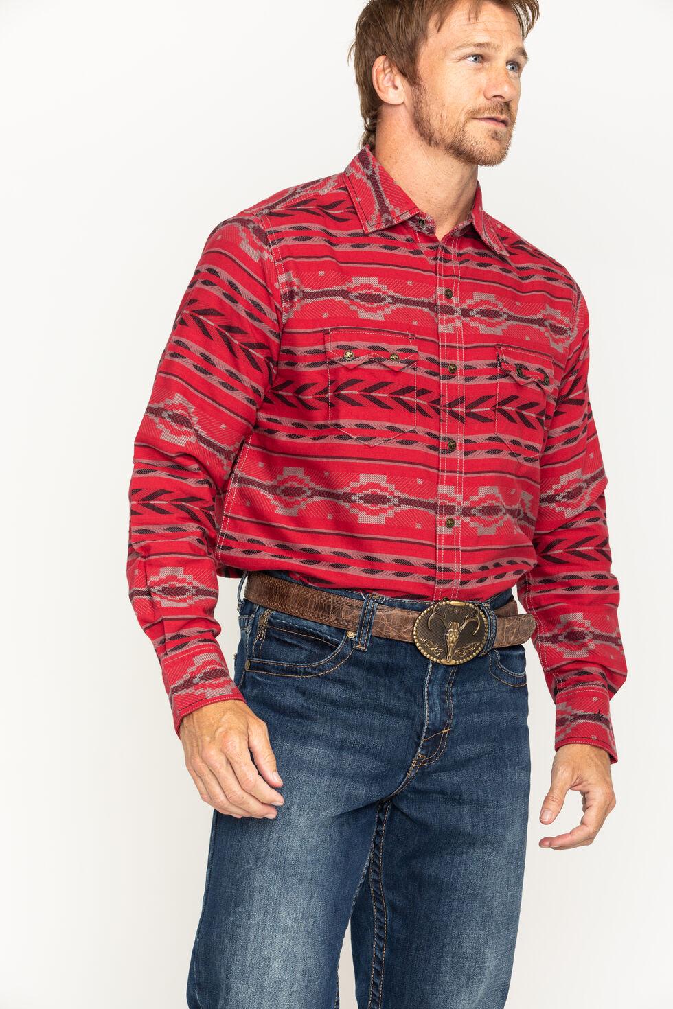 Ryan Michael Men's Beacon Blanket Western Shirt, , hi-res