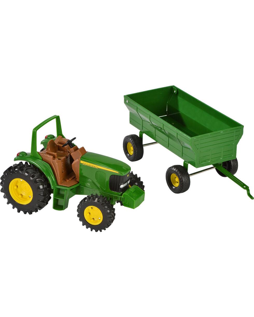 John Deere Toy Tractor & Wagon, Assorted, hi-res