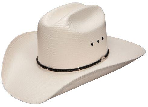 Resistol George Strait Two Step 8X Shantung Straw Cowboy Hat, Natural, hi-res