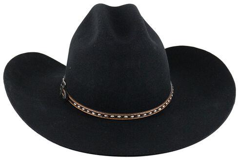 Cody James Men's 3X Wool Cowboy Hat, Black, hi-res