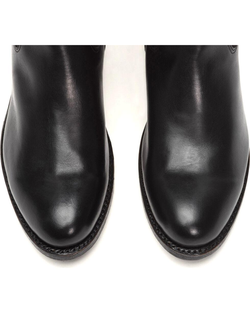 Frye Women's Black Suede Jayden Button Tall Boots , Black, hi-res