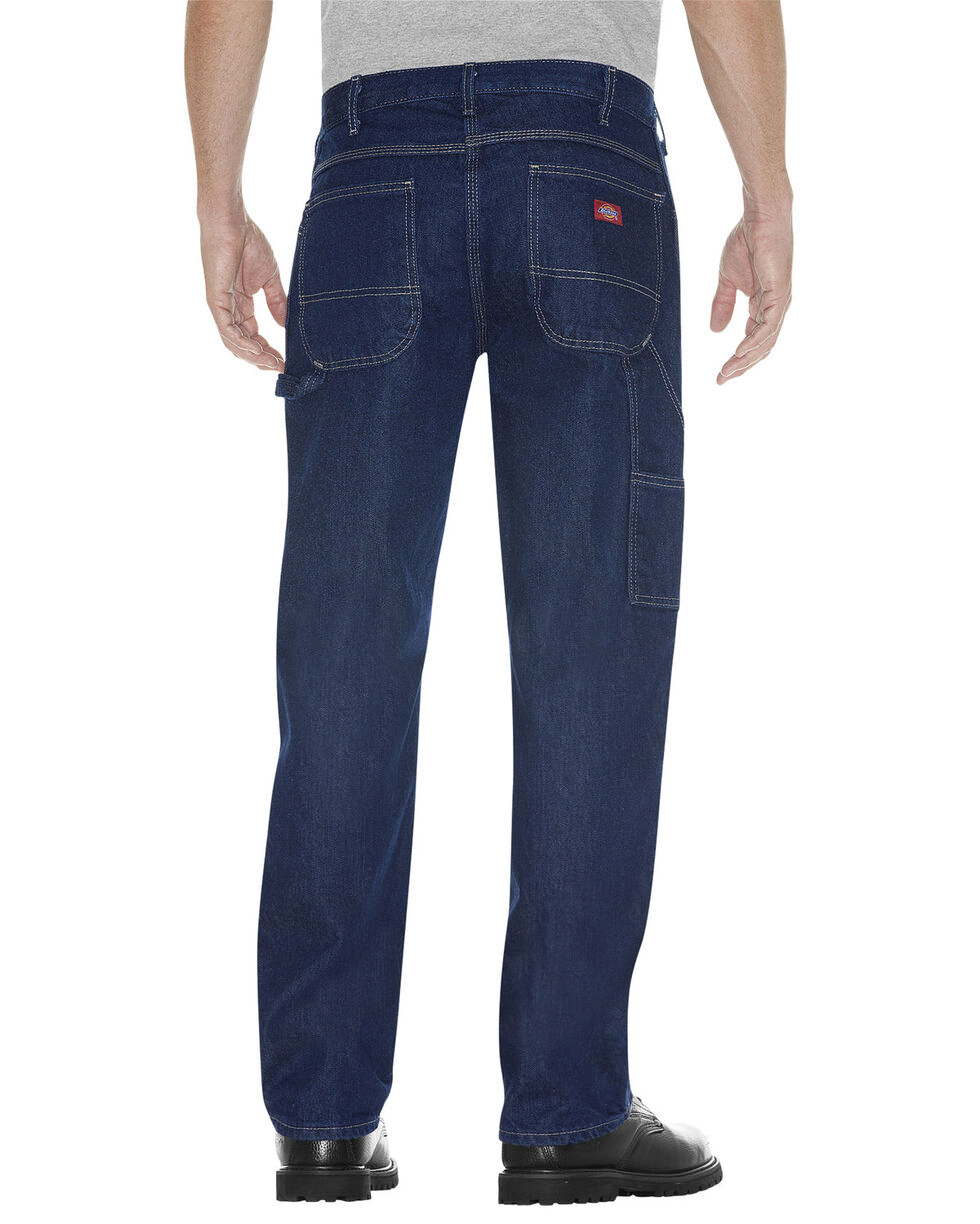 Dickies Relaxed Fit Carpenter Jeans - Big and Tall, Rinsed, hi-res