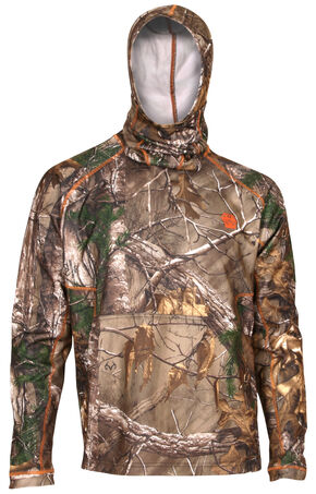 Rocky Men's Athletic Mobility Level 1 Mask Shirt, Camouflage, hi-res