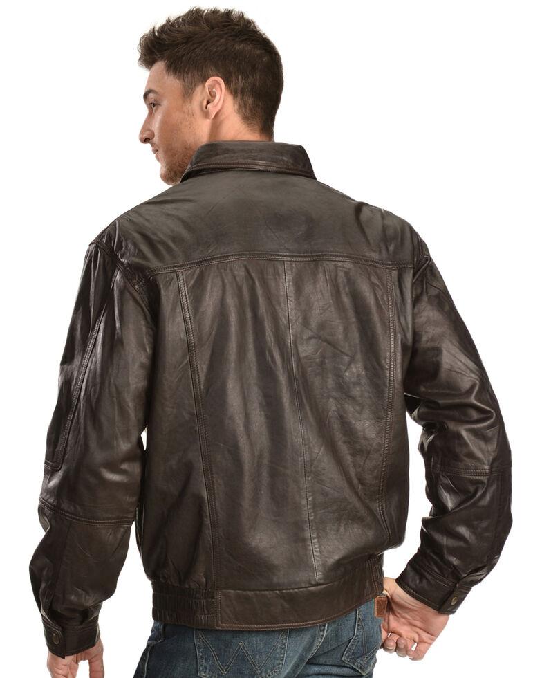 Scully Premium Lambskin Jacket, Chocolate, hi-res