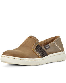 Ariat Women's Ryder Brown Bomber Slip-on Shoes, Brown, hi-res