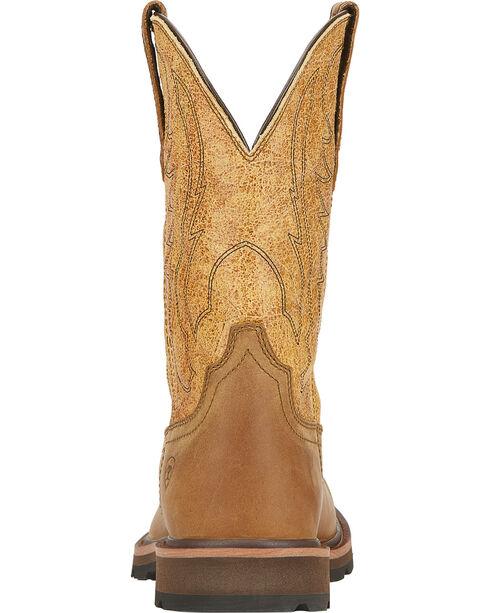 Ariat Groundbreaker Cowboy Boots - Square Toe, Dusty Brn, hi-res