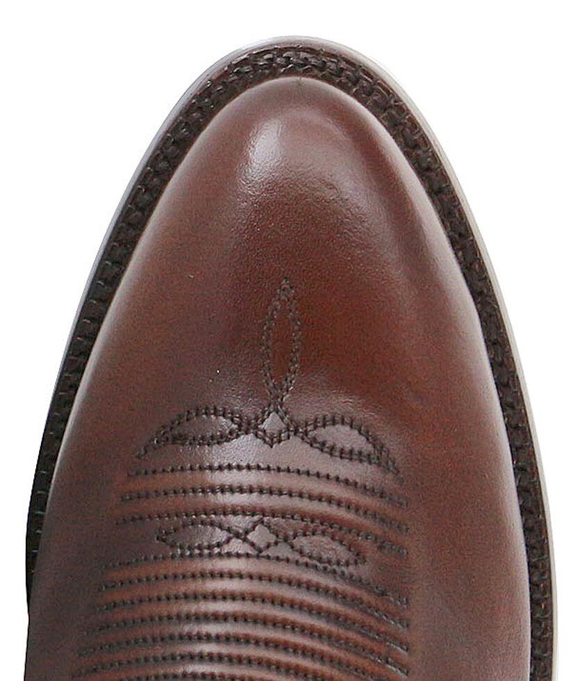 El Dorado Handmade Tan Vanquished Calf Cowboy Boots - Medium Toe, Tan, hi-res