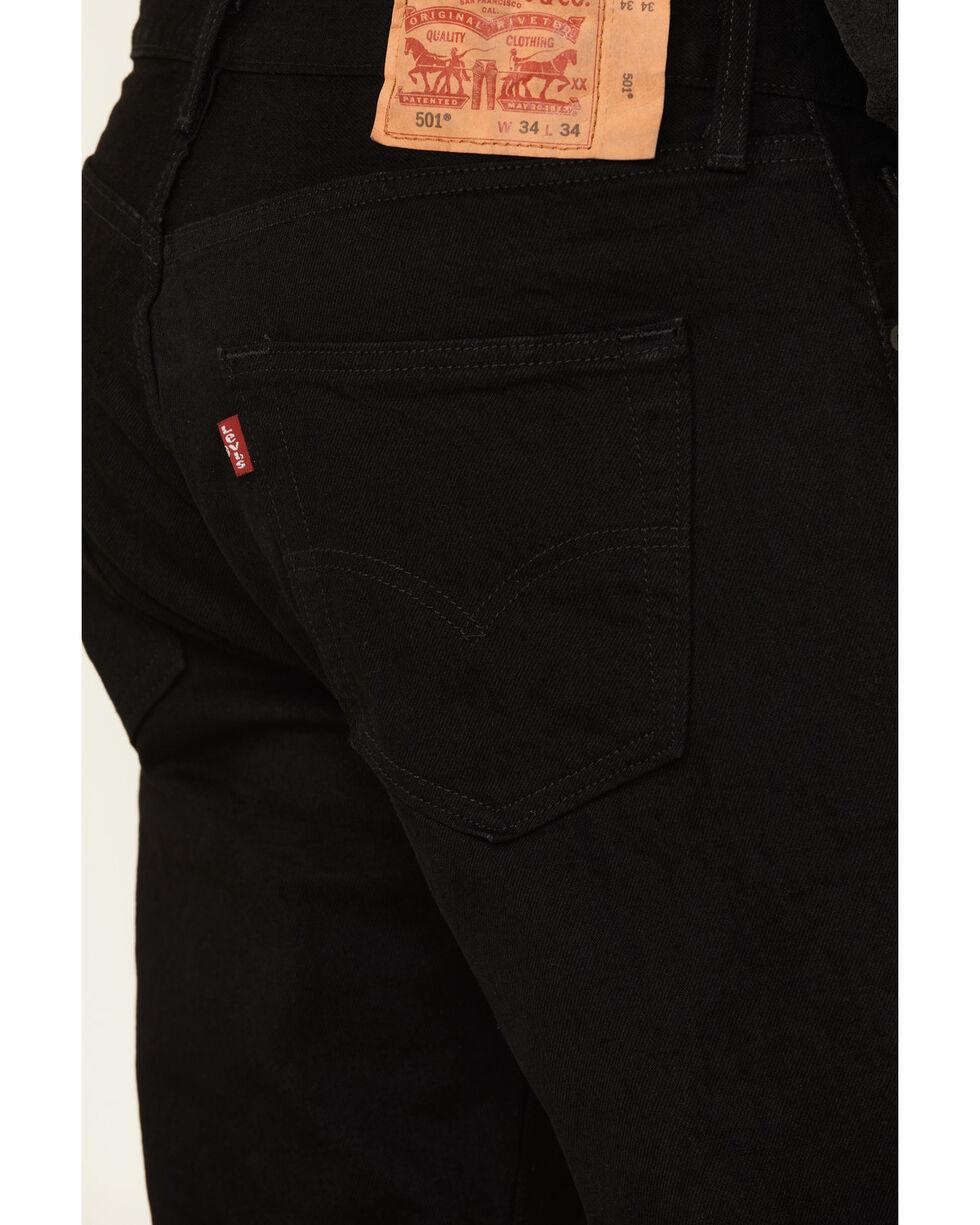 Levi/'s Men/'s 501 Original Fit Jeans Black