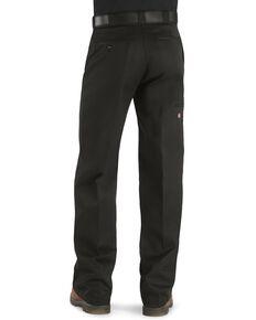 Dickies Loose Fit Double Knee Work Pants, Black, hi-res