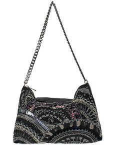 Mary Frances Women's Pattern Play Handbag, Black, hi-res