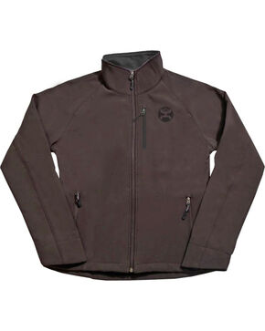 Hooey Boys' Brown Fleece Lined Jacket , Brown, hi-res