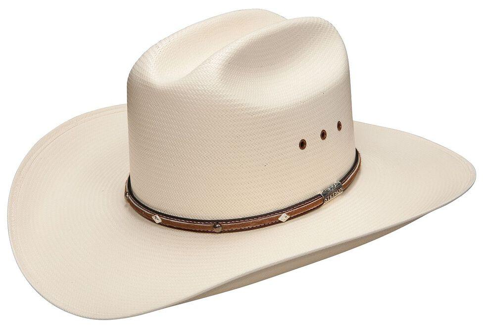 Stetson Angus 10X Shantung Straw Cowboy Hat, , hi-res